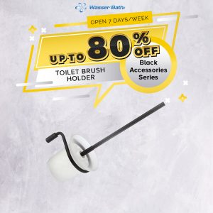 Black Series Accessories(Toilet Brush Holder)