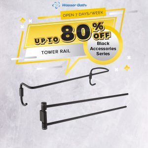 Black Series Accessories(Towel Rail)