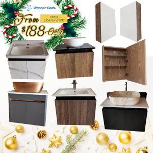 Wasserbath Cabinet $188 Promo(Cabinet)