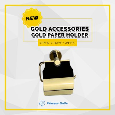 Wasserbath - Gold Products-Gold Paper Holder