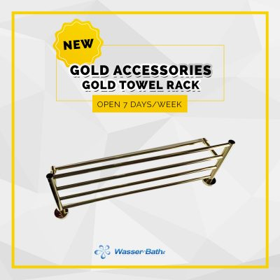 Wasserbath - Gold ProductsGold Towel Rack