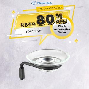 Black Series Accessories(SOAP DISH)