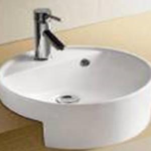 Wasserbath product categories semi recessed basin for Bathroom sink singapore